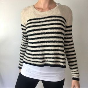 BP (Nordstrom) striped boucle sweater